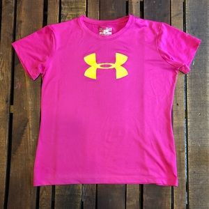Girls XL UA tee